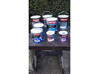 Tins of Paint for sale very cheap