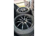 """18"""" wheels with tyres"""