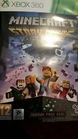 Minecraft story mode season pass xbox 360