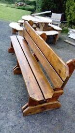 Bespoke bench £150
