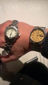 seiko 5 automatic mens watch 17 jewel