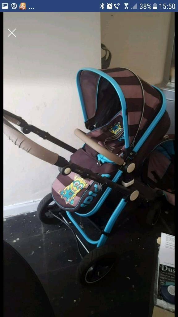 Isafe I Did It Minion Pram And Carseat