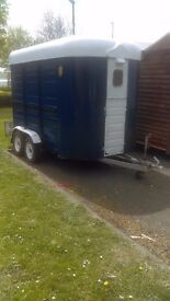 Sinclair horse trailer or project catering trailer coffee trailer