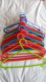 kids plastic coat hangers
