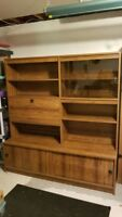 Free wall unit tv stand