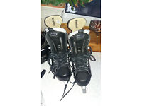 Reebok 16K Ice Hockey Skates - size 8.5D (Shoe size 9 UK) - Pro sharpened ready to play