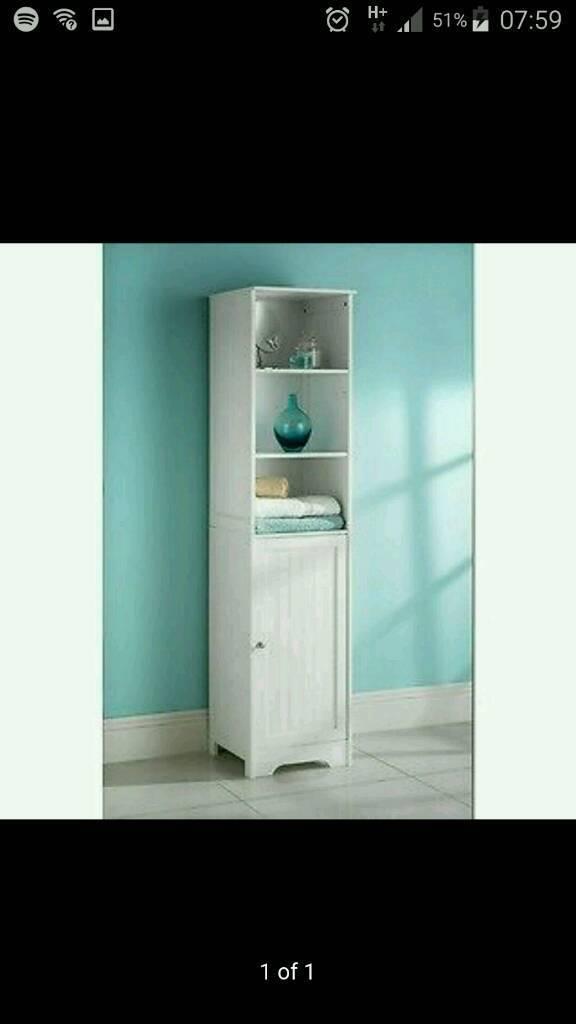 Stylish B&M tall boy bathroom unit | in Antrim, County Antrim | Gumtree