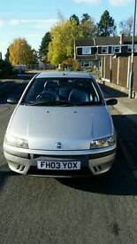 Fiat punto. 12 month MOT. 2 owners from new.