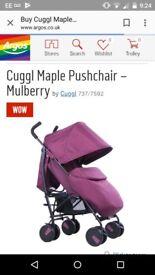 Brilliant condition cuggi pushchair