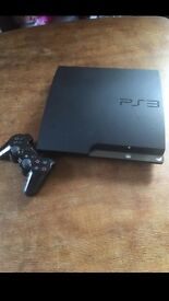 PS3 Playstation 3 + 12 Games + controller and HDMI cables