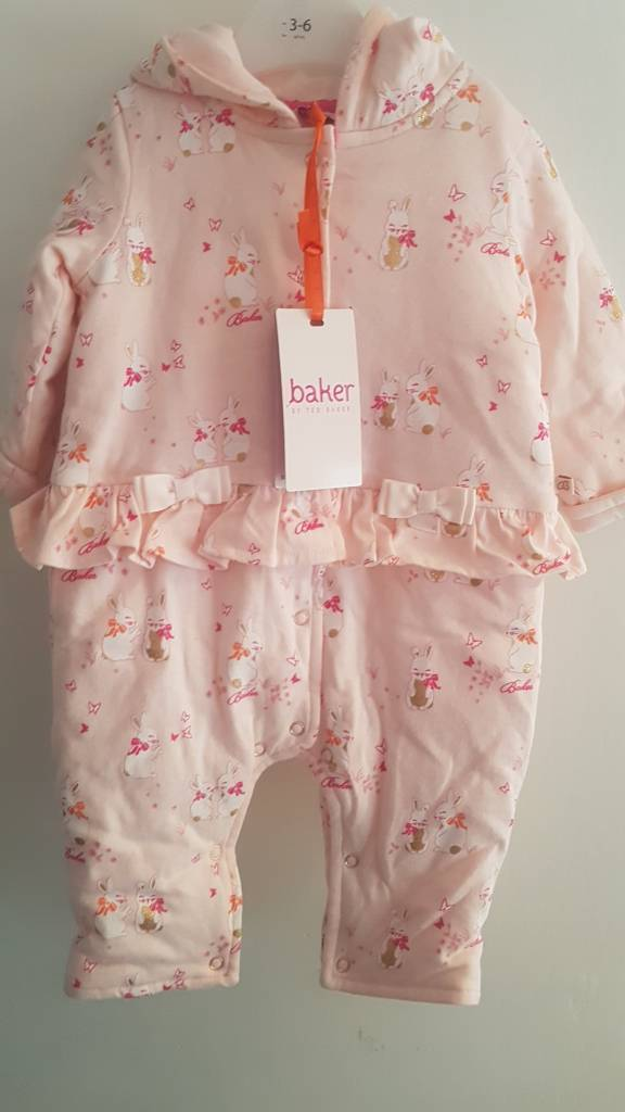 Ted baker girls snow suit 3-6