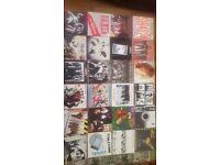 "50 Punk/Ska/New Wave 7"" singles in case"