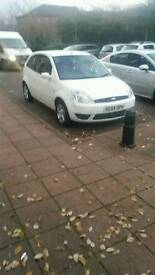 White Ford fiesta for sale