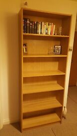 bookcase under 3months old excellent condition change of plan and want console table instead