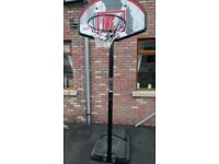 Basketball Hoop and Mobile Stand