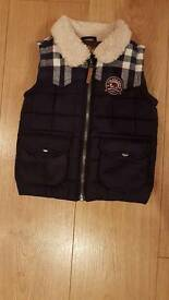 Boys body warmer