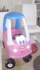 Little tikes cazy coupe