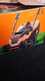 Black & Decker EMAX38i-GB Lawnmower with Compact and Go