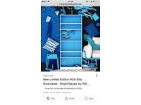 Ikea Blue Billy Bookcase limited edition