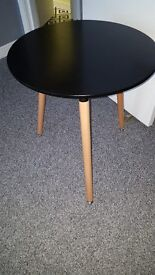 Stunning Black top 60cm table