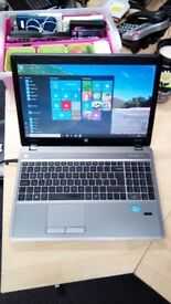 HP ProBook 4540s Laptop, Intel I3, Windows 10, MS Works, 320gb HD, Wifi, Bluetooth, Webcam, DVD/R/W