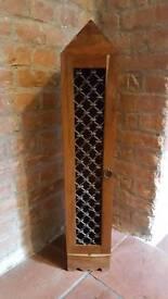 Wooden house shape CD cupboard