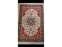 Lovely red Turkish rug