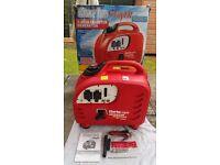 Clarke IG2200 2.2kw petrol generator - power tools, caravan, camping, motorhome, diy, market, trade