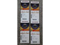 Bath v Leicester The Clash 4x Tickets - Twickenham