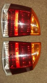 Vauxhall vectra back lights