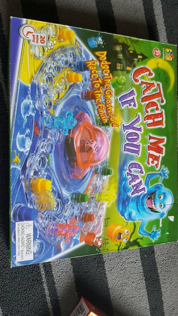 Catch me if you can board game
