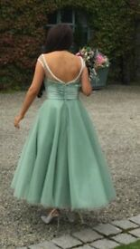 Green Bridesmaid Dresses. Size 10.