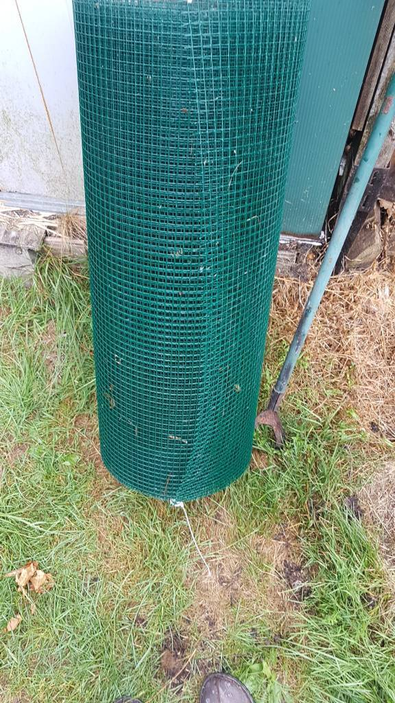 Plastic coated chicken wire | in Bridgend | Gumtree