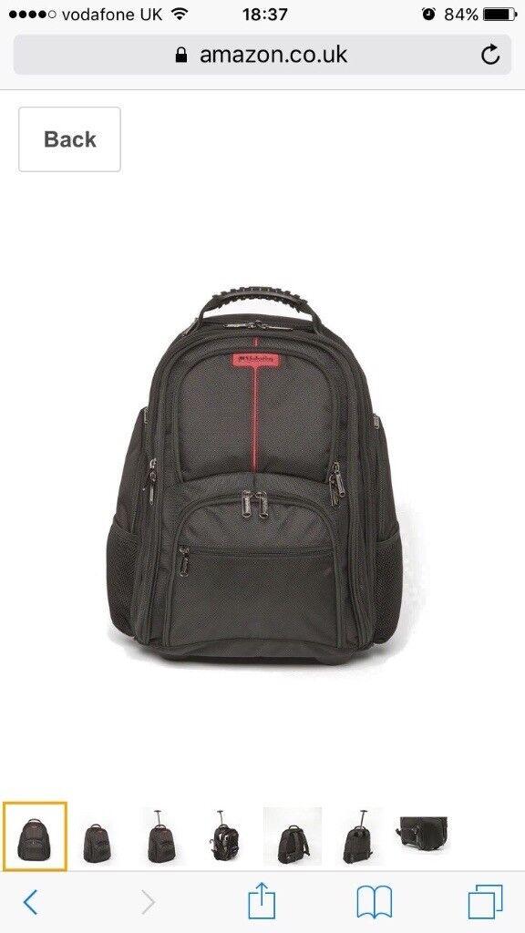 Suitcase/backpack Verbatim Paris - 17inch Notebook Rolling Backpack