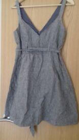 Size 12 miss selfridge linen dress