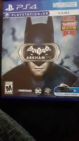 Ps4 batman vr game