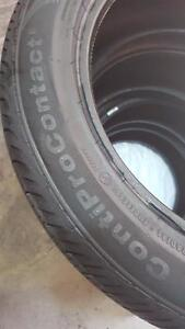 235/50R18 CONTINENTAL MARK, 4 PNEUS D'ETE A VENDRE