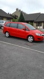 2013 63 VAUXHALL ZAFIRA 1.6 EXCLUSIVE EXCELLENT CONDITION 12 MONTH MOT ONLY 73K MILES