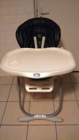 Chicco high chair excellent condition