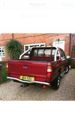 Red Mazda Pick Up Truck 4x4 like Ford Ranger low mileage 2002 plate MOT - May 2018