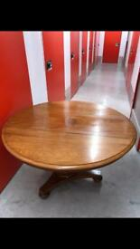 Stunning Top Quality Antique Round Leaf Table