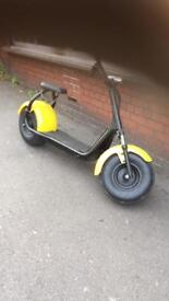 Harley Electric scooter 1000w 12Ah lithium Big tyre SOLD SOLD.....!