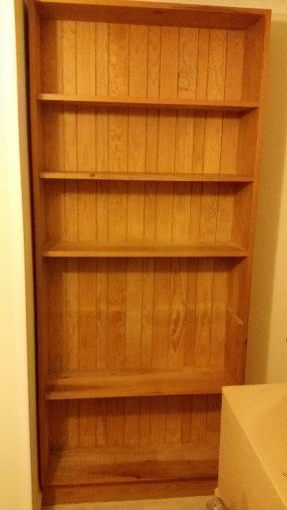 Bookcase, Solid wooden construction