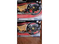PS2 Ferrari 360 Modena wheel with pedals