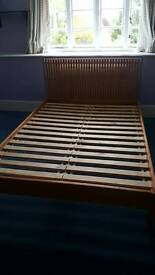 King-size bed frame. No matress