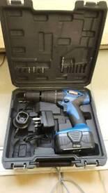 Nearly new 18v hilka hammer drill