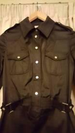 Karen Millen size 10 military dress