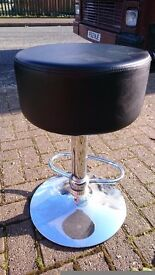 Airlift, spinning, faux leather breakfast/bar stool