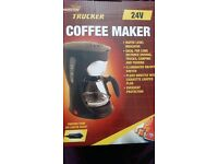 Brand new!! 24v coffee maker. Ideal for camping, truckers etc