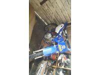 Yamaha ttr trial bike 125